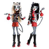 Набор кукол Монстер Хай Мяулодия и Пурсефона базовые Monster High Meowlody and Purrsephone