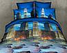 3D Комплект двоспального постільної білизни Ranforce - Шанхай