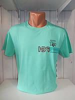 Футболка мужская FODILS  стрейч коттон, 2х сторонняя 007\ купить футболку мужскую оптом