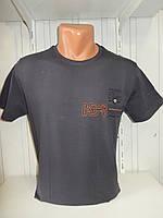 Футболка мужская FODILS  стрейч коттон, 2х сторонняя 008\ купить футболку мужскую оптом