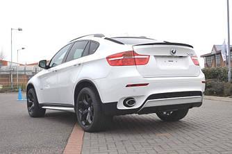Спойлер сабля тюнинг BMW X6 E71