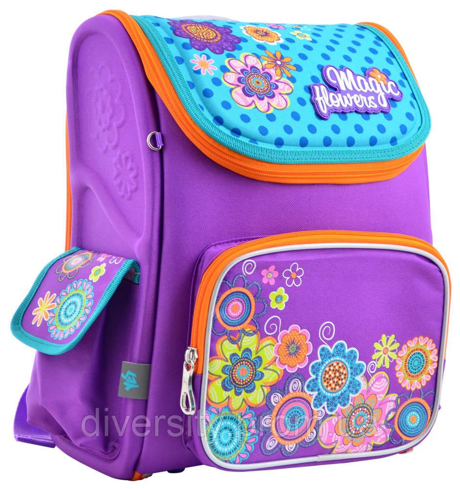 Школьный каркасный рюкзак  H-17 Flowers 555102