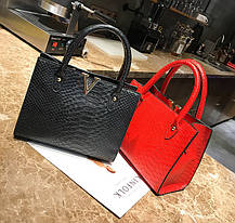Модная женская сумка под кожу питона V, фото 2