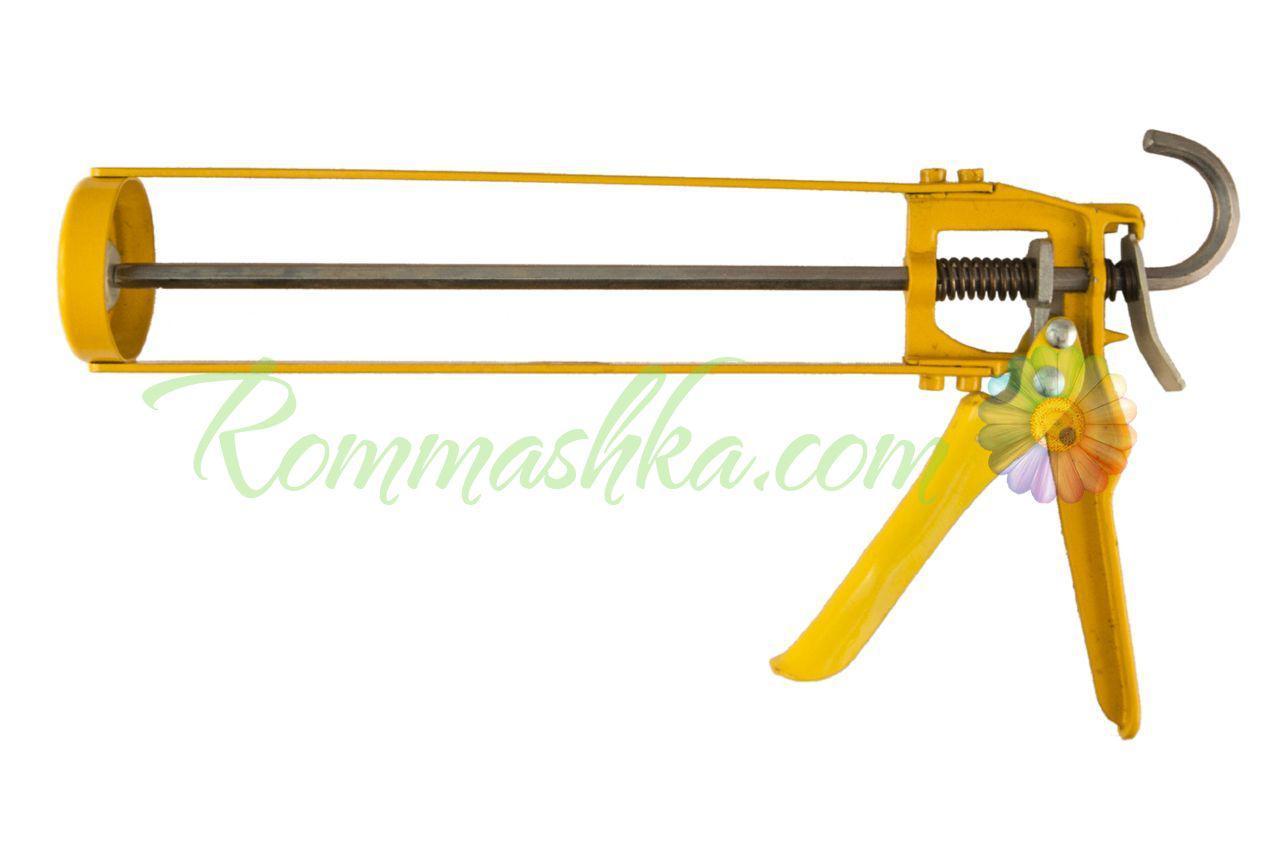 Пистолет для силикона Housetools - скелетный 225 мм, усиленный