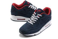 Чоловічі кросівки Nike Air Max VT 90 сині замшеві