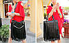 Стильная женская сумка с длинной бахромой, фото 5
