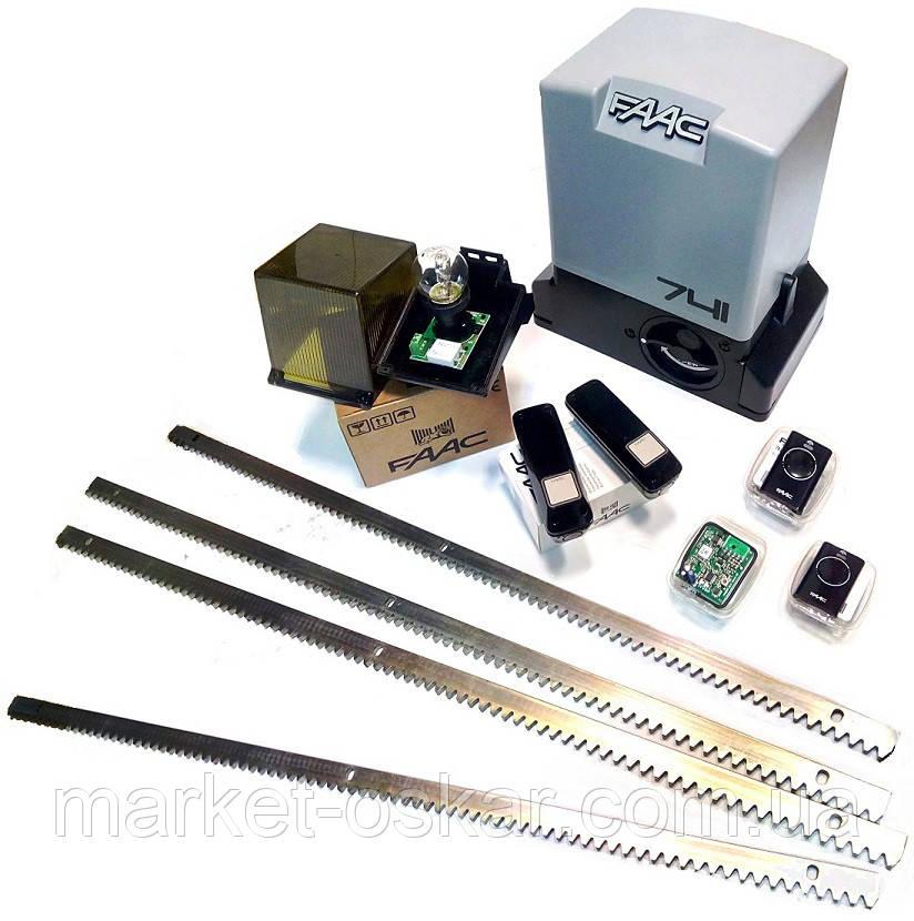Комплект автоматики FAAC 741, фото 1