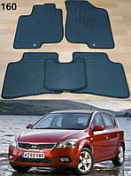 Коврики на Kia Ceed '10-12. Автоковрики EVA, фото 1