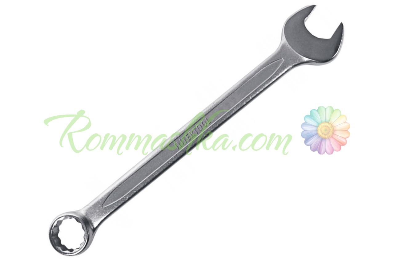 Ключ рожково-накидной Intertool - 8 мм, PROF