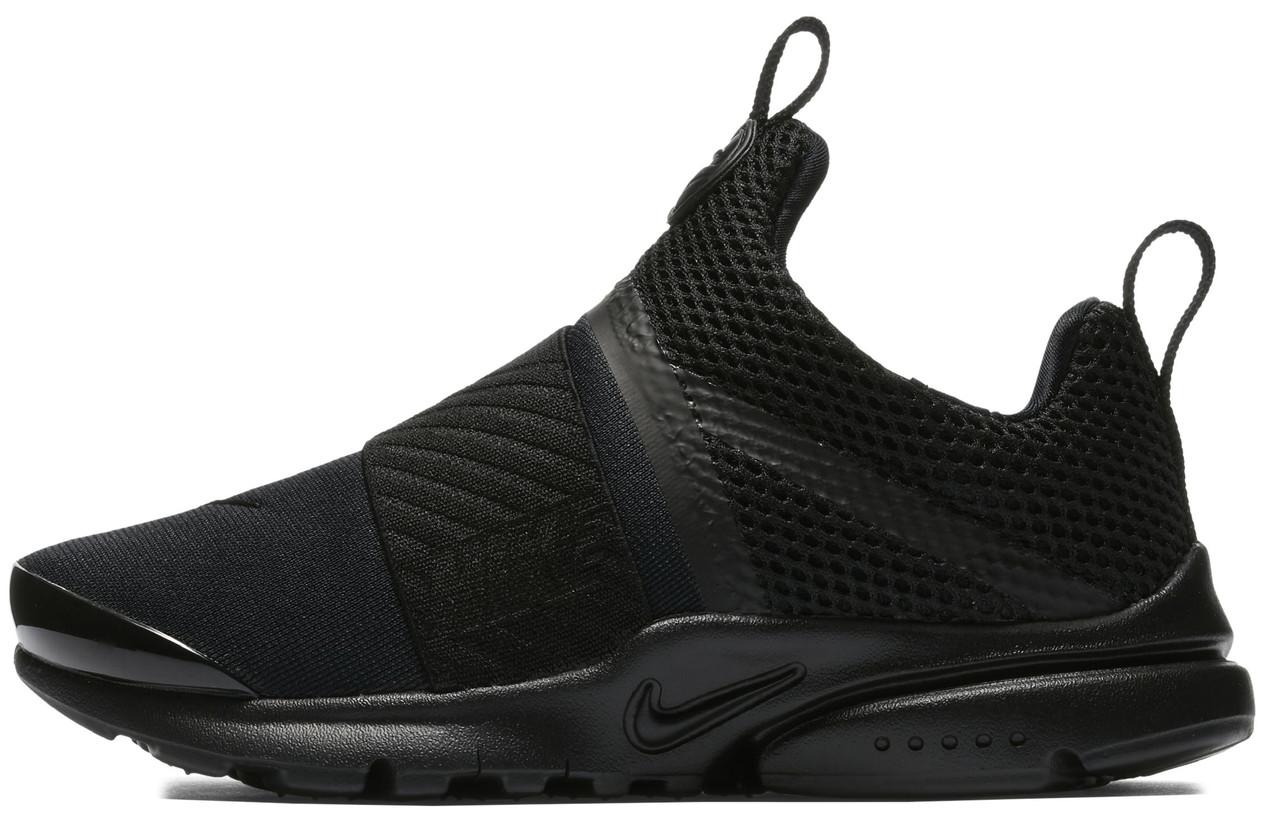 Мужские кроссовки Nike Presto Extreme (Найк Престо) черные