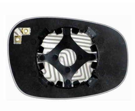 Зеркальный элемент (стекло зеркала) BMW E87 (09-) левый сферический с обогревом