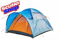 Палатка трехместная Coleman 1014, двухслойная (размеры 280х200х150 см)