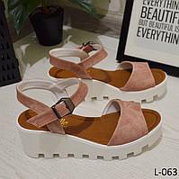 Босоножки на платформе, стильные, женская летняя обувь