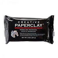 Паперклей Paperclay 227г — самоотвердевающий пластик для лепки