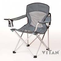 """Алюминиевое Кресло """"Берег"""" d19 мм (серый), до 100кг, 6010"""