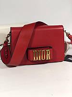 Стильная женская сумочка Dior EVOLUTION красная (реплика), фото 1