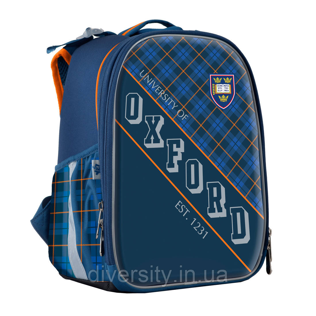 """Школьный каркасный рюкзак  H-25 """"Oxford"""" ,серия """"Shalby"""" 555370"""