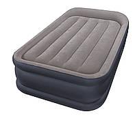 Высокая надувная кровать 99х191х42 см