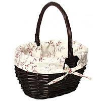Корзина плетеная Easter 16-1A-2 29х22х17/33 см темно-коричневая РАСПРОДАЖА !!!