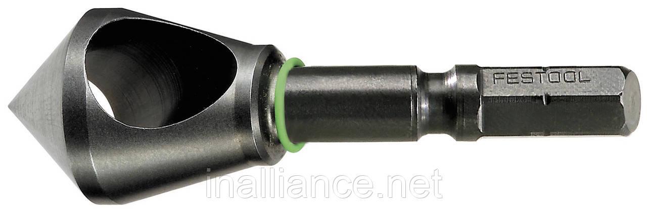 Зенкер с поперечным отверстием QLS D 5- 15 CE Festool 492521