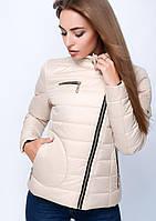 Куртка женская №35 (бежевый)