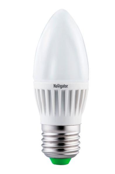 Лампа светодиодная NLL C37 7 W 2700K E27 (свеча) NAVIGATOR