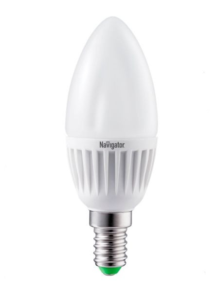 Лампа светодиодная NLL C37 7 W 2700K E14 (свеча) NAVIGATOR