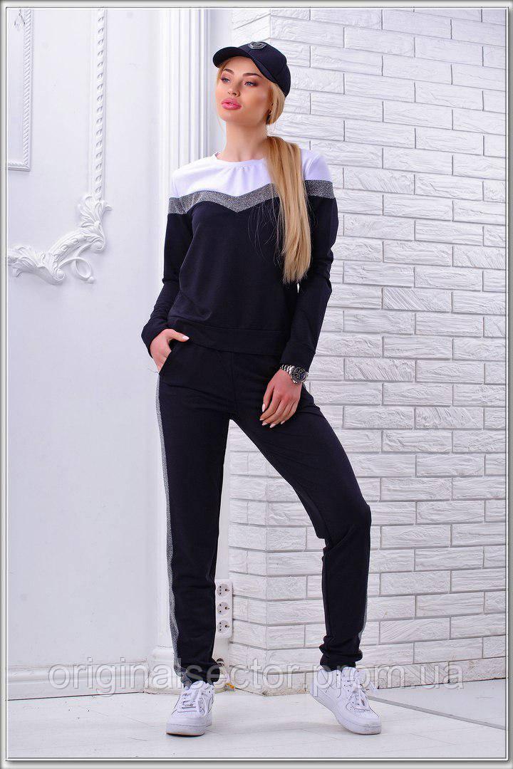 e6ddb08f6a1 Женский трикотажный спортивный костюм весна-лето - интернет-магазин
