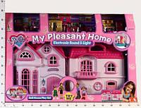 Дом для кукол большой двойной 16428