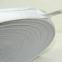 2 см Киперная лента (синтетическая, белая) - 50м.
