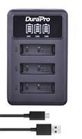 Зарядное устройство с LED дисплеем для трех аккумуляторов NP-BX1 Sony