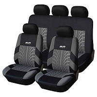 Набор чехлов на автомобильные кресла Road Master (полный комплект) - защита для салона автомобиля