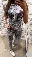 Ультра модный костюм с бусами и пайетками  мил109, фото 1