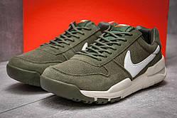 Кроссовки мужские Nike Apparel, зеленые (реплика)