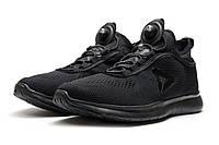 Кроссовки мужские Reebok Pump Plus Tech, черные (реплика)
