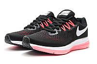 Кроссовки женские Nike Zoom Pegasus V4, черные (реплика)