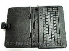 Чехол клавиатура для планшета 7 Rus MicroUSB Black, фото 3