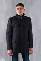 Мужское кашемировое пальто ворот стойка, разные цвета