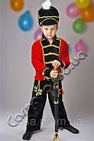 Детский новогодний костюм Гусар