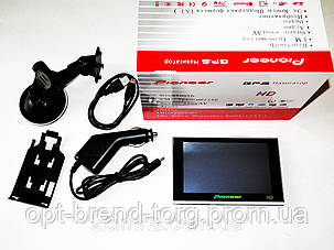 "5"" GPS навигатор Pioneer HD - 4Gb + FM-трансмиттер - Mp3, фото 2"