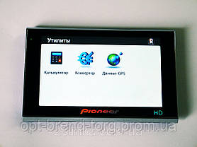 "5"" GPS навигатор Pioneer HD - 4Gb + FM-трансмиттер - Mp3, фото 3"