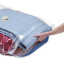 Вакуумные пакеты для хранения вещей 50*60 см., фото 3