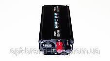 Преобразователь напряжения(инвертор) 12-220V 1000W, фото 2