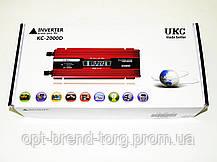 UKC 2000W KC-2000D Преобразователь тока AC/DC с LCD дисплеем, фото 3