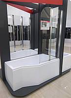 Шторка для ванны Ambition premium 2s 80,5х140 Besco PMD Piramida (Польша)