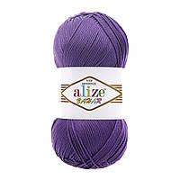 Пряжа для ручного вязания Alize Bahar (Ализе бахар) 44 сирень