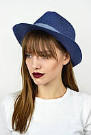Шляпа челентанка Валаам синяя
