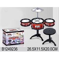 Детская барабанная установка 333-011 (6268)