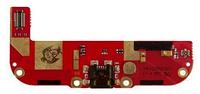 Шлейф для HTC Desire 608, с разъемом зарядки, с микрофоном, плата зарядки