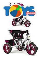 Детский трёхколесный велосипед Best Trike (фиолетовый), 5700-4450